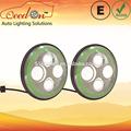 Qeedon 7 pulgadas led redondo de la cepe e- marca dot para daewoo tico con faros de luz de giro para mahindra thar