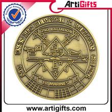 Artigifts company professional american marines coast guard coin