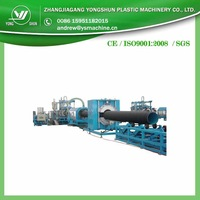 2014 NEW Single Layer / Double Layer PE or PVC plastic Corrugated Pipe making machineVASA