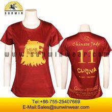 sublimation printing body design tee print t shirt