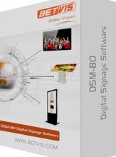 Powerful signage software dsm80 web based