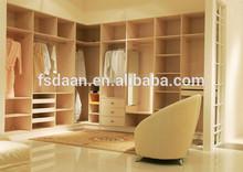newest door bedroom modular wardrobe