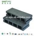Anti- uv madeira plástica reciclada/madeira plástica/piso decking de wpc