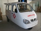 175CC cheap three wheel ambulance manufacturer motorcycle ambulance tricycle factory golf cart ambulance with CCC
