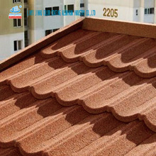 durable colorful stone coated metal roofing tiles of Washington Series