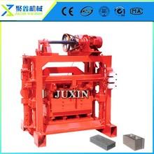 qtj4-40B2 Cement Brick Machine/brick making equipment/small manual concrete block machine