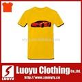 ёелтые футболки печать с автомобилем