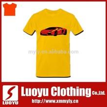 Желтые футболки печать с авто