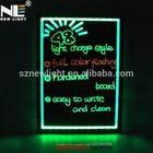 Color change acrylic LED illuminated magic advertisement writing board