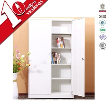 Household and office furniture 4 adjustable shelving tall steel storage cabinet