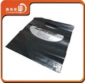 Xhfj- b- pbn4 negro de fondo con el logo de plata de plástico bolsas de encargo