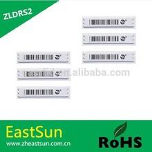 Best price sensormatic 58 kHz dr label alarming security colthing tag