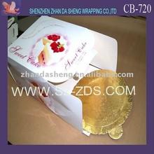 Birthday wishes cake box and pad of paper