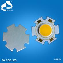 LED Manufacturer bright rohs cob led module chips 3w 1417v