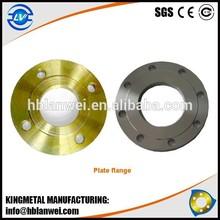 B.S Plate Flange BS4504 PN16 RST37.2 Forged Carbon Steel Flange Alibaba Express