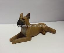 polystone toy dog, plastic farm animal toy