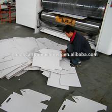 semi automatic corrugated paperboard present pizza box multi shapes die cutting machine