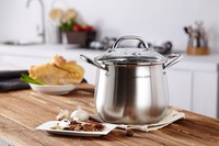 Belly shape stainless steel 304 stock pot