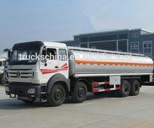 heavy duty truck 30000 liters beiben 8x4 fuel tanker truck capacity