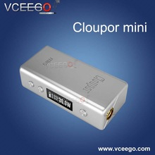 100% original Electronic cigarette battery cloupor mini with 2 colors silver and black in stock now !!!