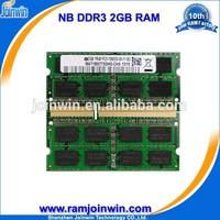 In large stock Lifetime warranty 1 piece ddr3 2gb ddr 1333 laptop memory