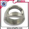 Metal die casting finger ring bottle opener with custom logo
