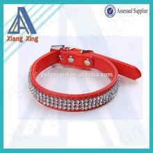 XS, S, M, L full-size rhinestone adjustable dog collar for wholesale