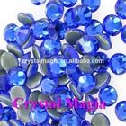 rhinestone studded heat transfers loose crystal bead for wedding dress