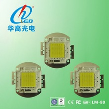 New product hot sale 80w led diode chip Bridgelux/ Epistar high power led 80W cob white led chip manufacturer made in china