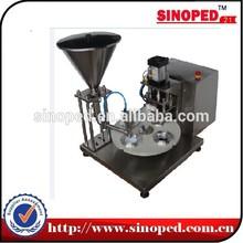 SINO series Aluminum nespresso coffee capsule filling machine