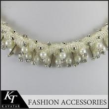 Free Sample! Wholeasale Rhinestone Lace Tassel Bridal Headband Wedding HairHood Crystal Bangles Lace