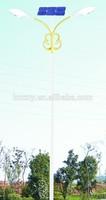 Double lamp design enough power solar LED street light