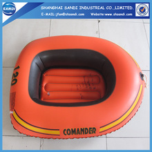 Customized PVC inflatable swimming pool with cartoon printed
