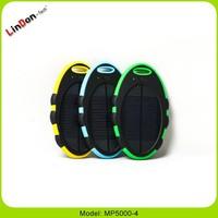 Portable mini mobile power station solar for mobile phone MP5000-4