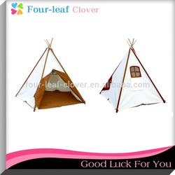 KidKraft Teepee Tent, Indian Teepee Tripod Play Tent Kids Hut Children House