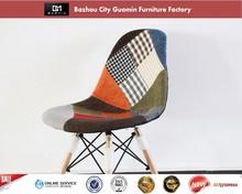 silla plegable de plástico cromado piernas silla de plástico de la tira para la silla