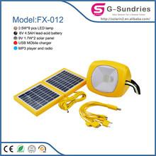 house using solar lighting 5w solar kit