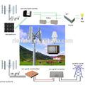 2kw éolienne à axe horizontal/turbines hydroélectriques prix turbine éolienne pour la vente