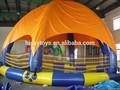 Best seller! Ce PVC piscina inflável bola de hamster brinquedos, Inflável piscina cobre