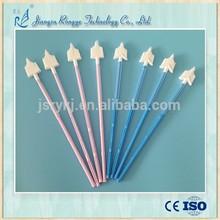 Medical dispoasble broom type gynecological cervical cancer cell sampling brush