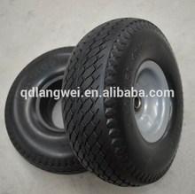4.10/3.50-4 solid rubber garden cart wheel