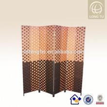 Alibaba express Dubai pop foldable moving paper rattan screen divider partition furniture