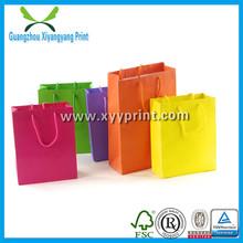 Hot Sale Cheap Customized Paper Carrier Bag Print Logo