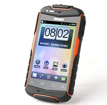 Waterproof mobile phone 3.5 Inch 5.0MP Camera Dual Core Dual SIM Card WIFI Rugged smartphone Discovery V5+