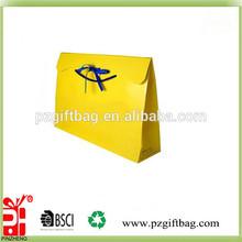2015 popular printed luxury paper shopping gift bag