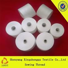T20 b grade 100% Yizheng polyester yarn in China