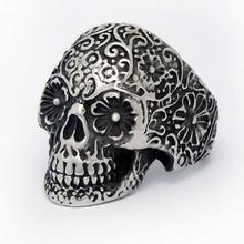 Hot Sale Men's Skull Adult Power Ring