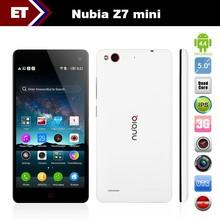 "Wholesale Original ZTE Nubia Z7 mini lte 4G FDD smart phone Qualcomm MSM8974AA 2.0GHz 5.0"" FHD 1920x1080 16GB"