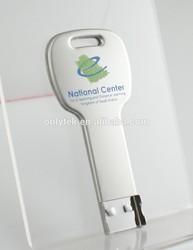 Metal key shape USB flash drive pen drive memory disk memory stick