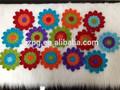 Dekoratif tığ çiçek/ucuz el yapımı tığ işi çiçek